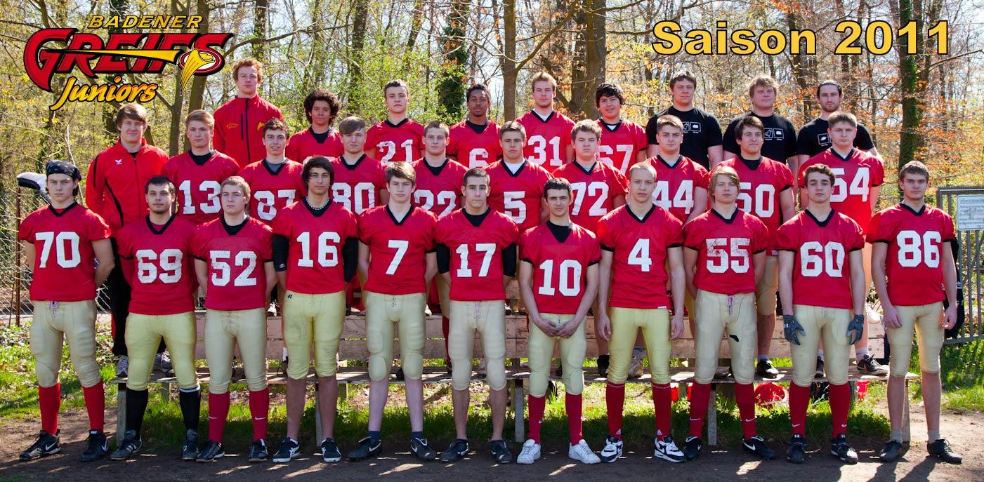 Badener Greifs Juniors U19 - 2011