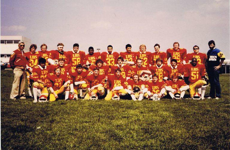 Badener Greifs Seniors 1986
