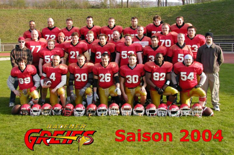 Badener Greifs Seniors 2004