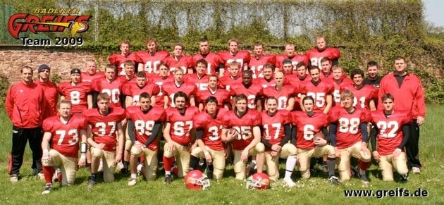 Badener Greifs Seniors 2009