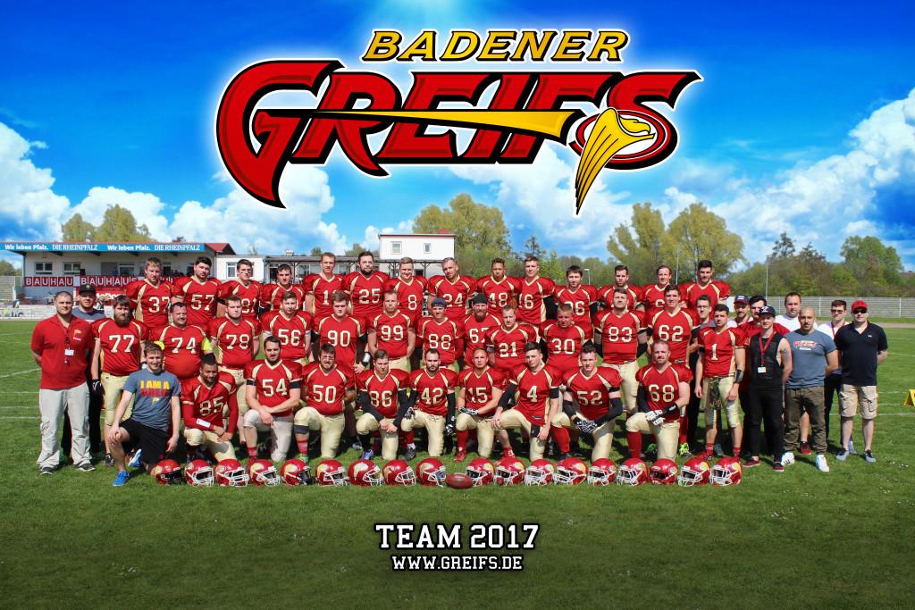 Badener Greifs Seniors 2017